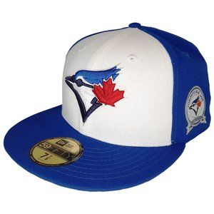 Toronto Blue Jays 40th Side Patch Fitted Hat